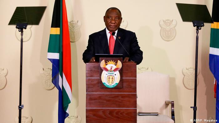 President Cyril Ramaphosa in Pretoria