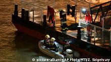 Ungarn Bootsunglück auf der Donau