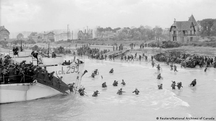 75. Jahrestag D-Day Normandie (Reuters/National Archives of Canada)