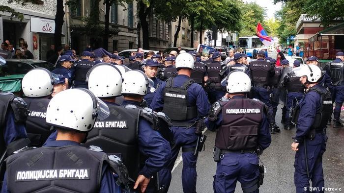 Policija obezbeđuje učesnike festivala 2019. godine
