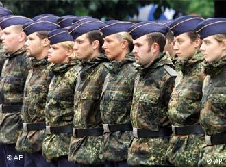 Bundeswehr recruits: in the future, only on a voluntary basis.