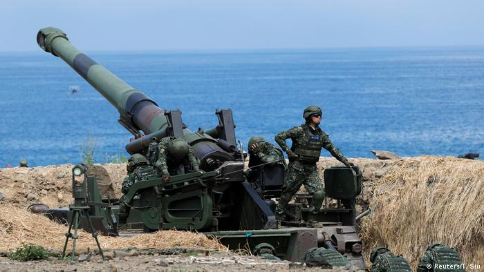 Military exercises in Taiwan in May