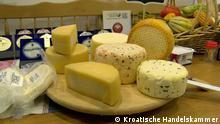 Kroatien Landwirtschaftliche Gemeinschaft und Mini-Käserei von Adela Jares aus Daruvar