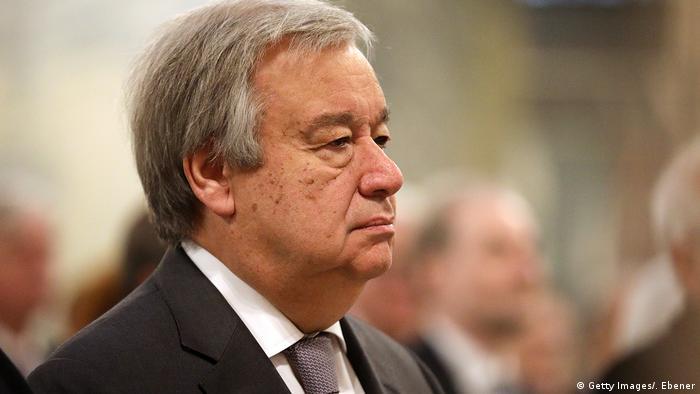 آنتونیو گوترش، دبیرکل سازمان ملل متحد