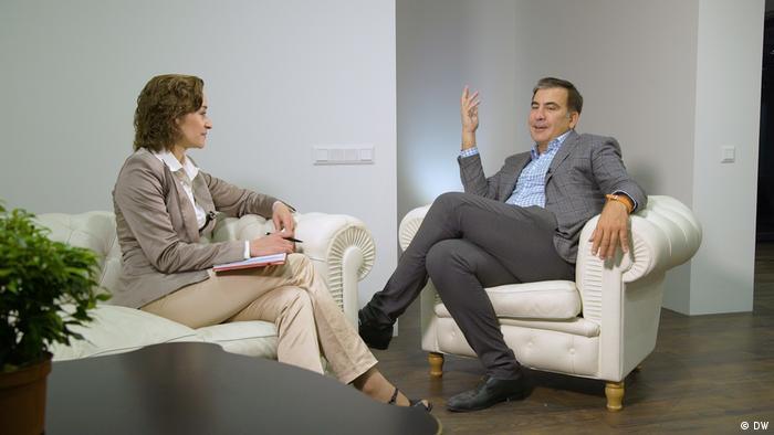Міхеіл Саакашвілі дав DW інтерв'ю