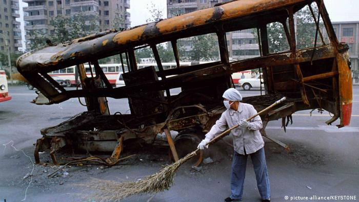 Tiananmen Massaker China 1989 (picture-alliance/KEYSTONE)