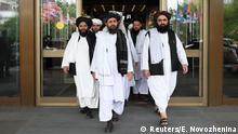 Russland Gespräche zwischen Taliban und afghanischen Politiker in Moskau