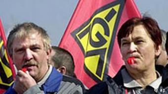 A union strike