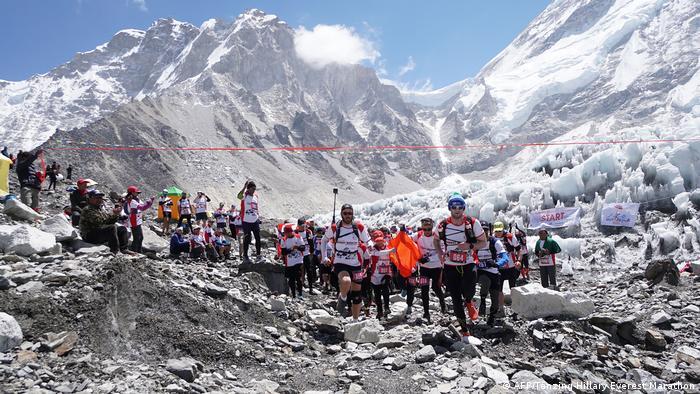 Maratón Everest, la más alta del mundo.