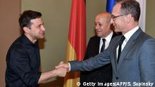 Kiew Besuch Außenminister Maas bei Selenskyj