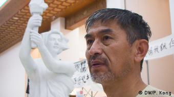 Li Xiao Ming, ehemaliger Leutnant der chinesischen Armee (DW/P. Kong)