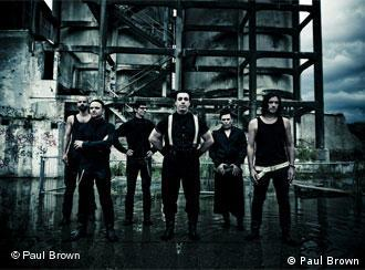 Deutschlands Skandalrocker Rammstein (Quelle: Universal/Paul Brown)