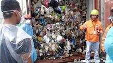 Kanada schickt Plastikmüll auf die Philippinen