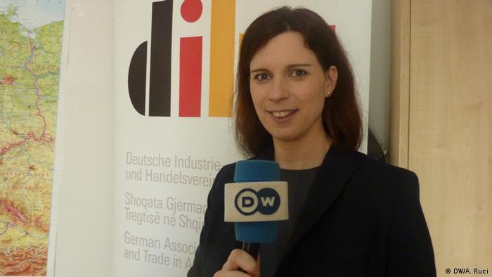 Stephanie Sieg, President of DIHA Albanien