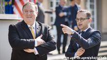 Berlin US Außenminister Pompeo bei Maas