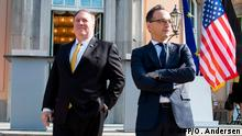Berlin US Außenminister Pompeo bei Maas