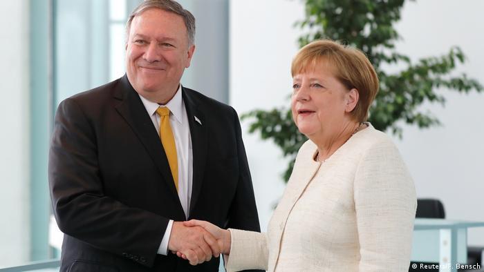 Deutschland Berlin | US Außenminister Mike Pompeo auf Staatsbesuch mi Angela Merkel