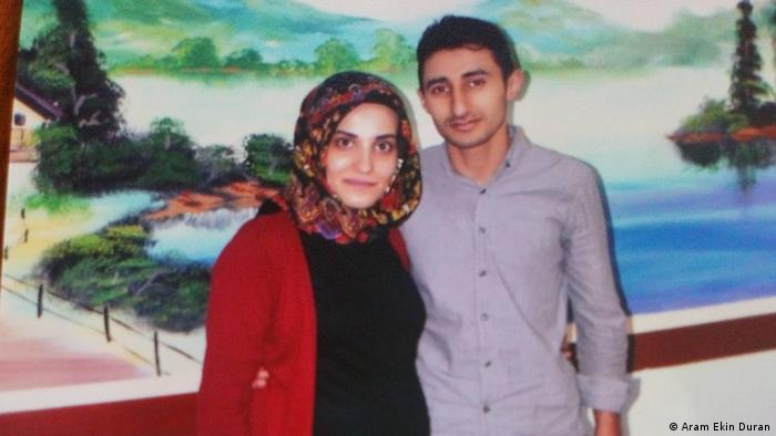 Hatice Sahnaz and Huseyin Sahnaz