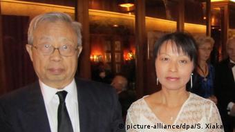 Norwegen Oslo - Fang Lizhi und Ehefrau Li Shuxian (picture-alliance/dpa/S. Xiakang)