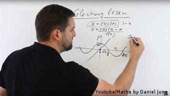 Un tutorial de matemáticas en YouTube, todo un hit.
