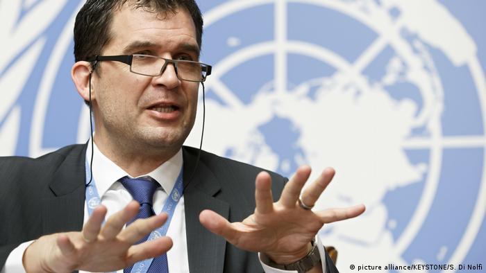 El suizo Nils Melzer es Relator Especial de Naciones Unidas sobre la Tortura desde 2016