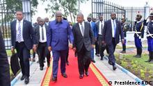 Kinshasa, 31. Mai 2019+++Präsident Felix Tshisekedi und seinem angolanischen Amtskollegen João Lourenço in Kinshasa