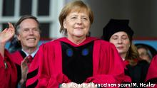 USA Bundeskanzlerin Angela Merkel in Harvard