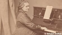 Pianistin Clara Schumann 1878 Hanfstaengl 11951 Vorderseite