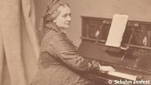 Pianistin Clara Schumann