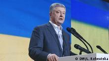 Ukraine Parteitag Europäische Solidarität in Kiew