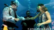 Flash-Galerie Trau Dich! Hochzeit unter Wasser