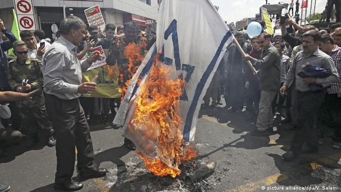 Iran Demonstrationen gegen Israel am Al-Kuds-Tag in Teheran