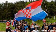 Österreich Bleiburg, Gedenken an Massaker an kroatischen Ustascha-Miliz