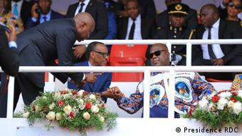 DR Kongo Beerdigung von Etienne Tshisekedi