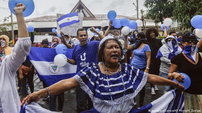 Nicaragua Protest in Managua