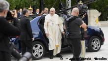 Rumänien papst Franziskus im Dacia