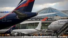 Russland Flughafen Moskau-Scheremetjewo