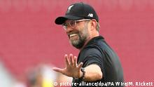 Fußball Trainer Klopp Liverpool Training Session Estadio Metropo