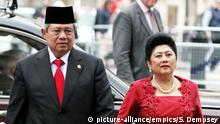 Indonesien Ani Bambang Yudhoyono Präsidentengattin gestorben
