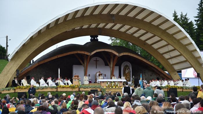 Ruämnien | Papst Franziskus bei Messe in Szeklerburg