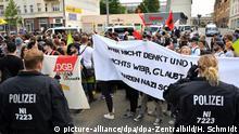 Deutschland | Demonstrationen in Chemnitz gegen Rechts