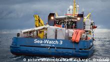 Sea-Watch 3 Schiff - Handout von Sea-Watch