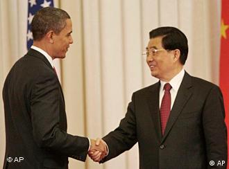 Barack Obama und Hu Jintao (Foto: AP)