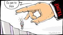 Karikatur von Vladdo El buen vecino