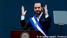 El Salvador - Vereidigung: Nayib Bukele wird Präsident von El Salvador
