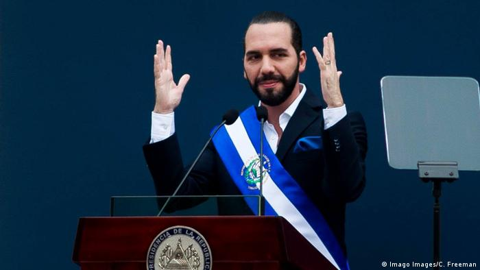 El Salvador - Vereidigung: Nayib Bukele wird Präsident von El Salvador (Imago Images/C. Freeman)