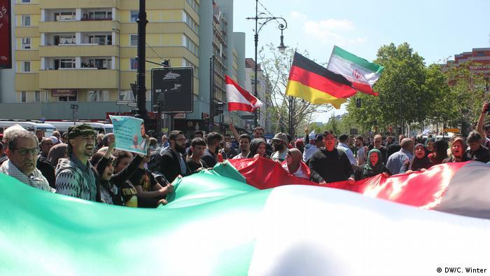 راهپیمایی روز قدس در برلین