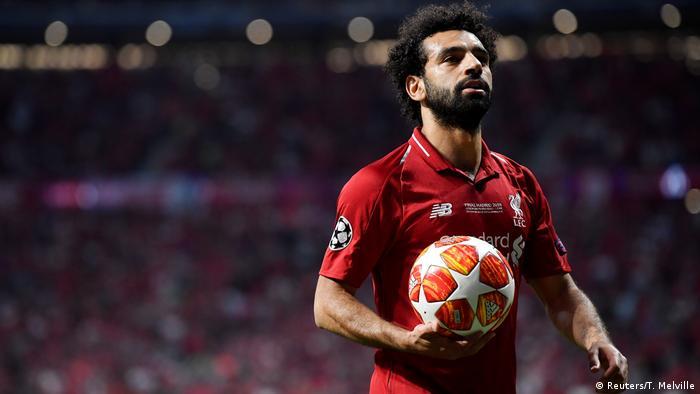 المصري محمد صلاح نجم ليفربول الإنجليزي (أول يونيو/ حزيران 2019)