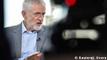 England, London: Jeremy Corbyn im Interview mit BBC