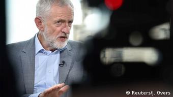 England, London: Jeremy Corbyn im Interview mit BBC